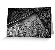 Old barn Hahndorf South Australia. Greeting Card