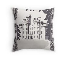 Cluny Castle Throw Pillow