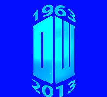 Dr Who 50th Anny (Blue) by Marjuned