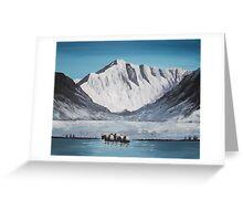 Himalayan Pass Greeting Card