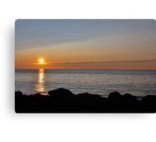 Cape Breton Sunset Canvas Print