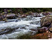 Trickle to a Torrent Photographic Print
