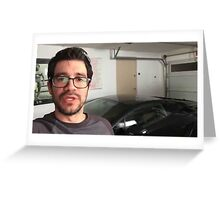 Here in my garage!!!! Greeting Card