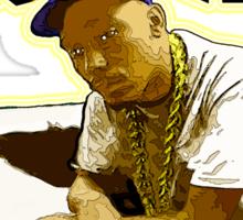 """HIP-HOP ICONS: BIG DADDY KANE"" Sticker"