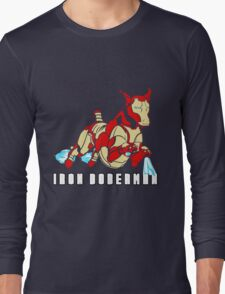 Iron Doberman Long Sleeve T-Shirt