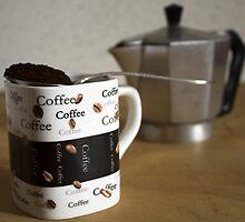 coffee cup by slavikostadinov
