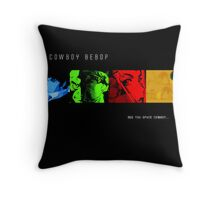 cBebop Throw Pillow
