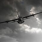 RAF C-130 Transport by James Biggadike