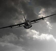 RAF C-130 Transport by J Biggadike