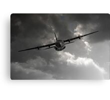 RAF C-130 Transport Canvas Print