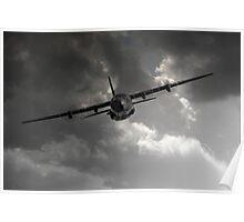 RAF C-130 Transport Poster