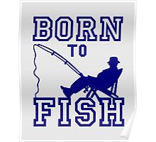 Born to Fish Poster