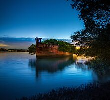 The Wrecks of Homebush Bay by hangingpixels