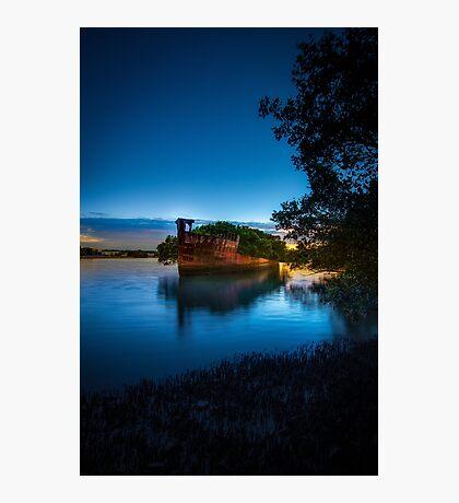The Wrecks of Homebush Bay Photographic Print