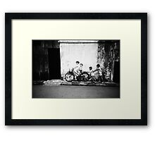 Two Pairs - Lomo Framed Print