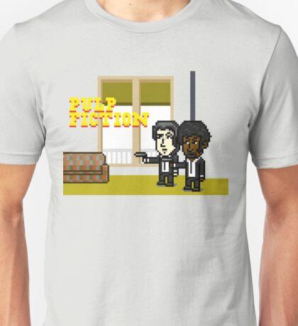 Pixel Pulp Fiction Unisex T-Shirt