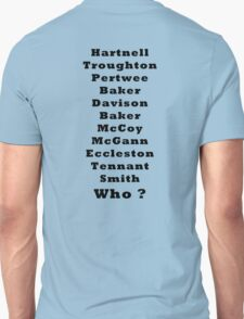 Who's The next Doctor T-Shirt