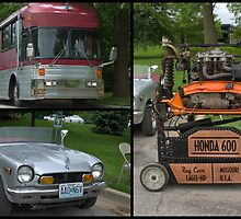 Eagle Motor Coach RV and Honda 600 Mini Car by TeeMack