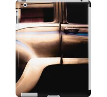 Black Vintage Car in Cuba iPad Case/Skin