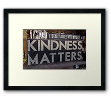 I Totally Agree Framed Print