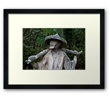 Boy, You've Got To Carry That Weight, A Long Time Framed Print