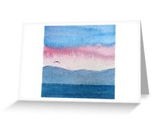 Skye Abstract 1 Greeting Card