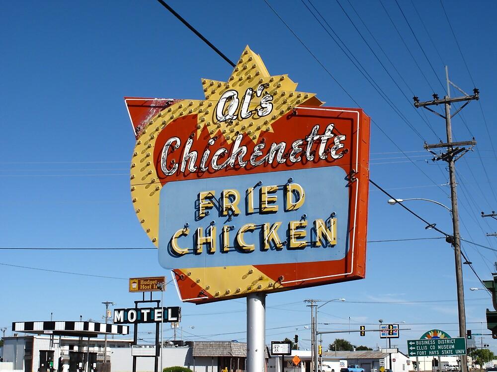 Al's Chickenette - Hays, Kansas by Frank Romeo
