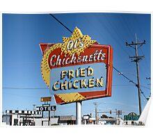 Al's Chickenette - Hays, Kansas Poster