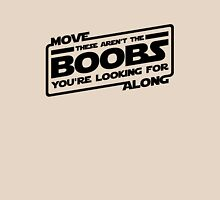 Move Along These Aren't The Boobs You're Looking For (black) Womens Fitted T-Shirt