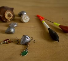 fishing supplies by slavikostadinov