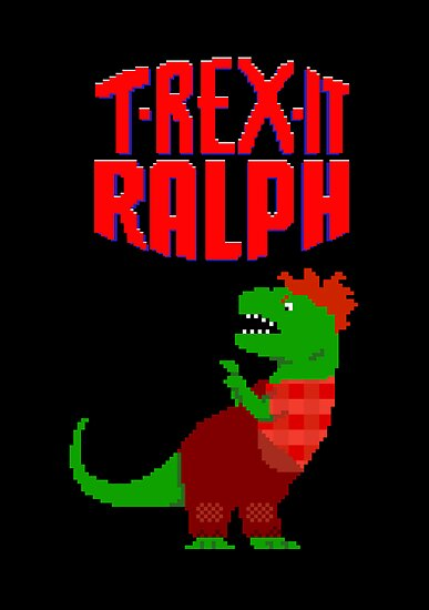 T-Rex It Ralph by jezkemp