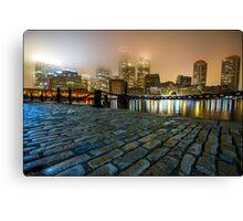 Boston Fog Canvas Print