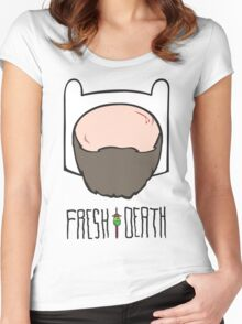 Fresh to Death Seasoned Adventurer  Women's Fitted Scoop T-Shirt