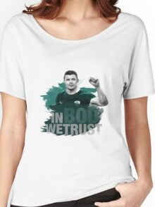 "Brian O'Driscoll | ""In BOD we trust."" Women's Relaxed Fit T-Shirt"