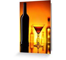 Shadows Bar #2 Greeting Card