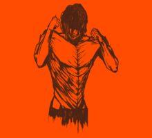 Eren Titan form tee by Matthew James