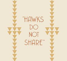 """Hawks Do Not Share"" Hemingway ipad case by nouvellegamine"