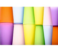 Abstract multicolor Photographic Print