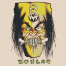 Shrunkin Head Zorlac  by BUB THE ZOMBIE