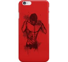 Eren Titan form tee iPhone Case/Skin