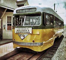 Yellow Car - Los Angeles by Glenn McCarthy