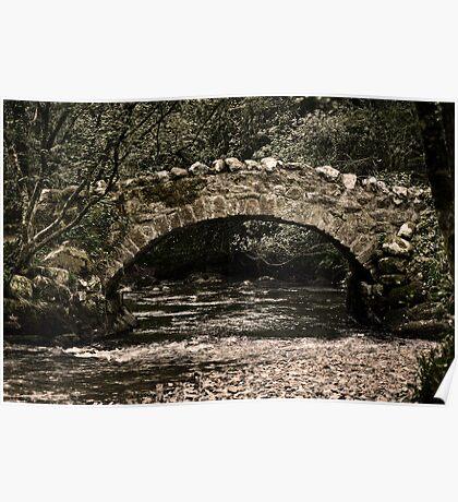 Teign Bridge Poster