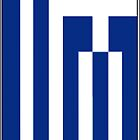 iPhone case Greek Flag by Lee Eyre