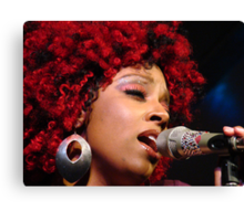 The Jazz Singer Canvas Print