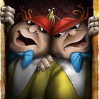 tweedle dum and dumber by Mark Rodriguez (Godriguez)