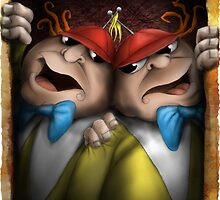 tweedle dum and dumber by Mark Rodriguez (Godriguez)