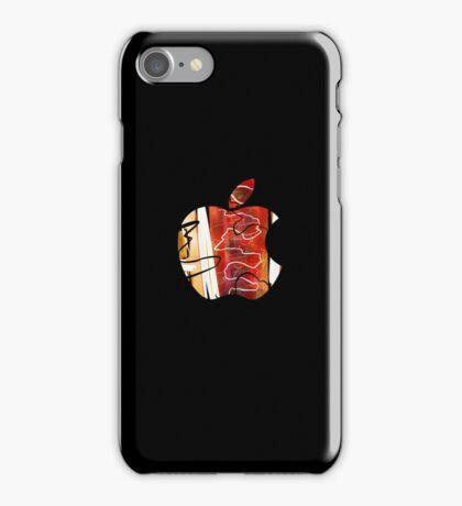 Apple - Black. iPhone Case/Skin
