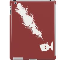 A visible suspension of particles. iPad Case/Skin