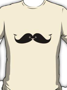 Kawaii Mustache or Cute Whales? T-Shirt
