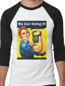 We Can Swing It! Men's Baseball ¾ T-Shirt